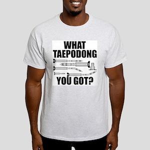 What Taepodong You Got? Ash Grey T-Shirt