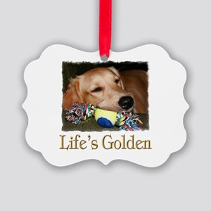 Life's Golden Picture Ornament