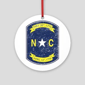 NC_shield Ornament (Round)