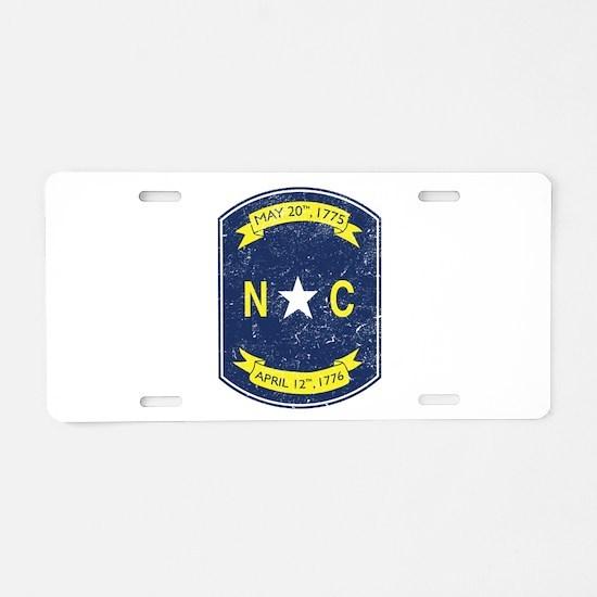 NC_shield.png Aluminum License Plate