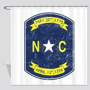 NC_shield Shower Curtain