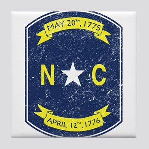 NC_shield Tile Coaster
