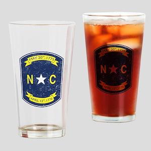 NC_shield Drinking Glass