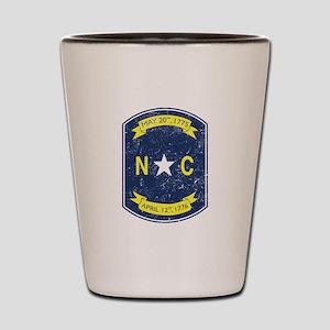 NC_shield Shot Glass