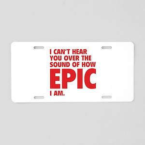 EPIC Aluminum License Plate