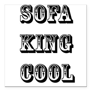 Sofa King Car Magnets Cafepress