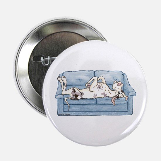 """Merlequin couch 2.25"""" Button"""