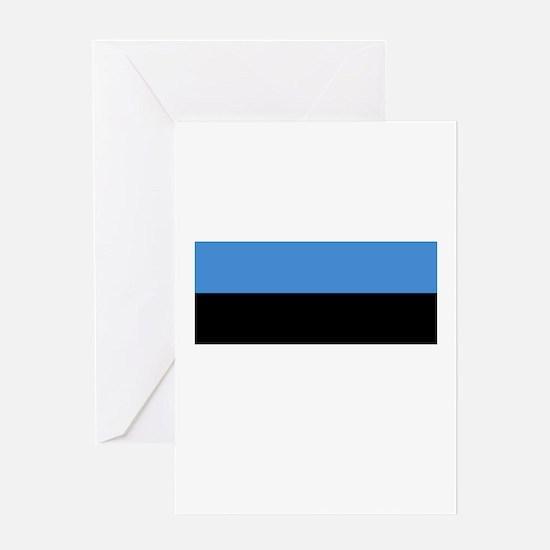 Estonia flag Greeting Card