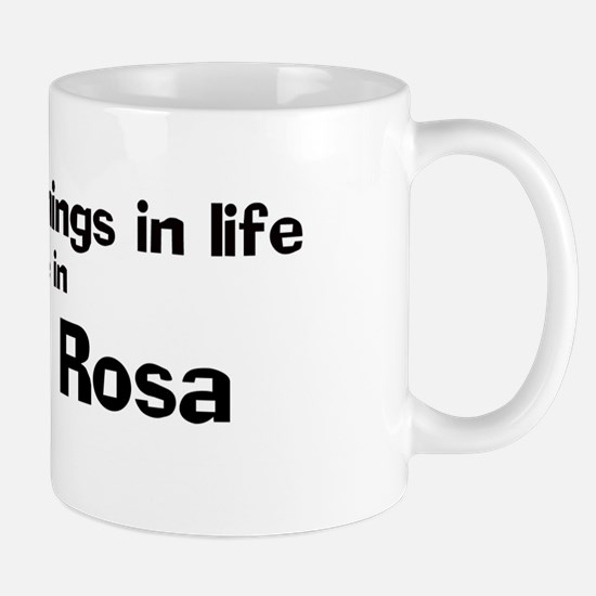 Santa Rosa: Best Things Mug