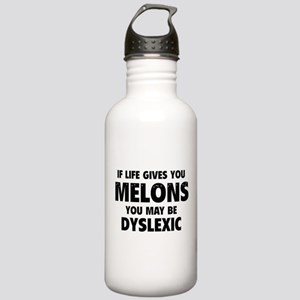 If Life Gives You Melons Stainless Water Bottle 1.