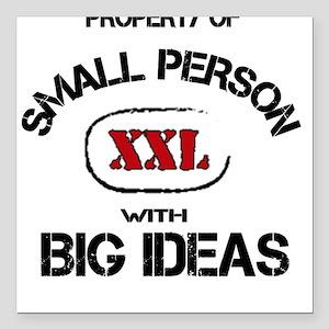 Small Person Big Ideas Square Car Magnet