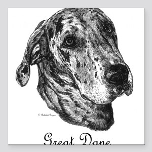 Merle Dane Square Car Magnet