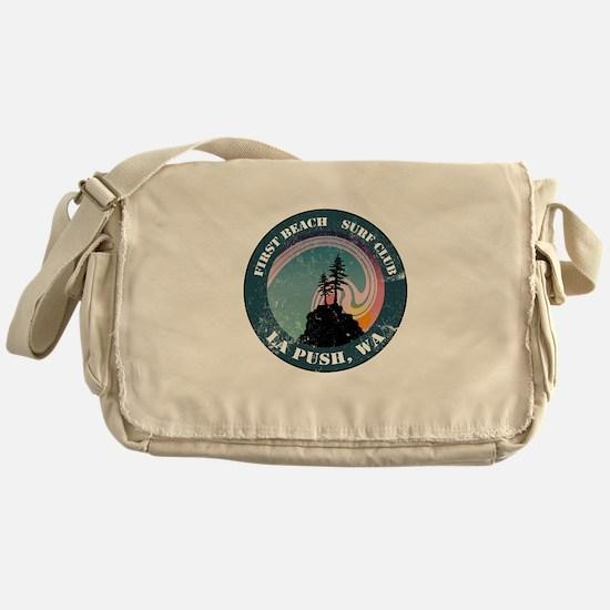 First Beach Surf Club Messenger Bag
