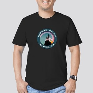 First Beach Surf Club Men's Fitted T-Shirt (dark)