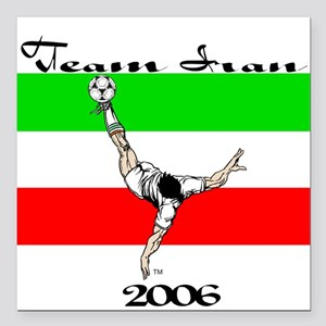 Team Iran '06 Square Car Magnet