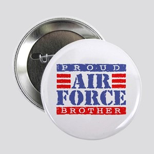 Proud Air Force Brother Button