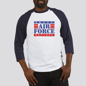 Proud Air Force Brother Baseball Jersey