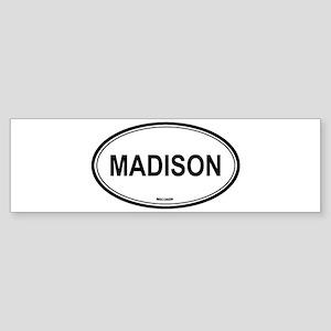 Madison (Wisconsin) Bumper Sticker