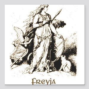Freya Square Car Magnet