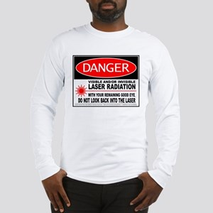 Laser Safety Long Sleeve T-Shirt