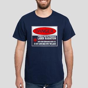 Laser Safety Dark T-Shirt
