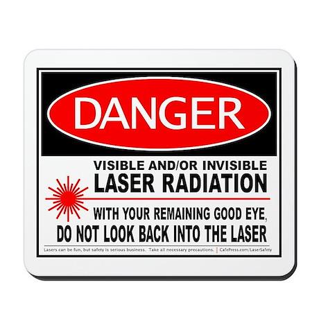 Laser Safety Mousepad