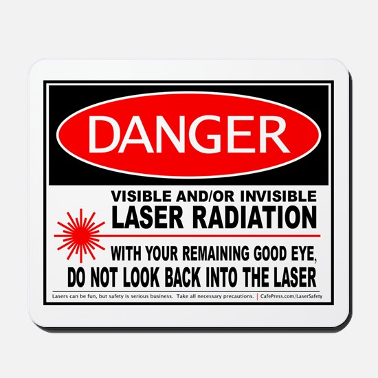 Laser Safety Mousepad