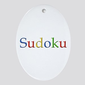 Google Sudoku Oval Ornament