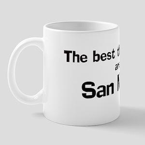 San Martin: Best Things Mug