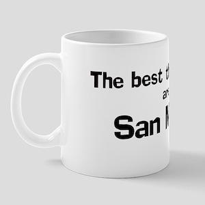 San Marino: Best Things Mug