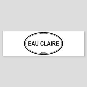 Eau Claire (Wisconsin) Bumper Sticker