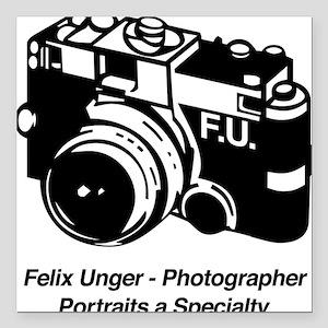 Felix Unger Photographer Square Car Magnet