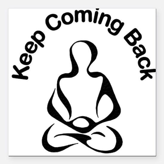 12 Step Meditation Square Car Magnet