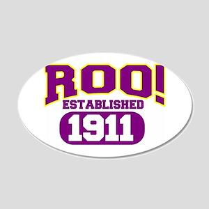 roo1911 38.5 x 24.5 Oval Wall Peel
