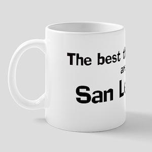 San Leandro: Best Things Mug