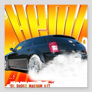 Dodge Magnum Square Car Magnet