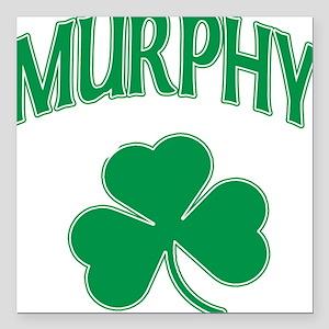 Murphy Irish Square Car Magnet