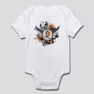 Wings and Ribbon Multiple Sclerosis Infant Bodysui