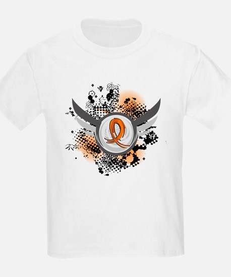 Wings and Ribbon Multiple Sclerosis T-Shirt
