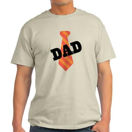 Dad Father's Day Necktie Light T-Shirt