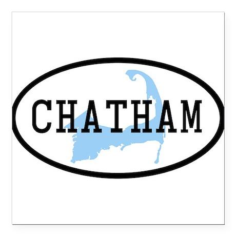 Chatham Square Car Magnet