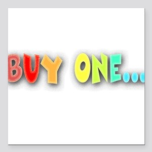 Buy One... Creeper Square Car Magnet