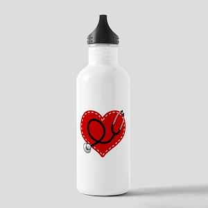 Doctor Nurse Heart Stainless Water Bottle 1.0L