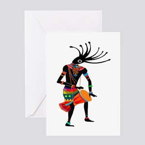 DANCE ON Greeting Cards