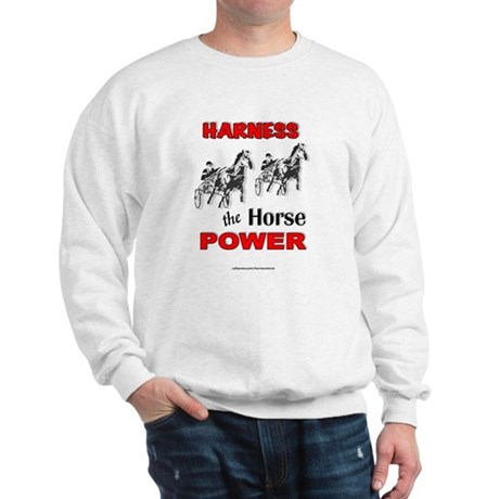 Horse Power - Red Sweatshirt