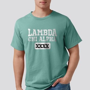 Lambda Chi Alpha Athleti Mens Comfort Colors Shirt