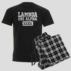 Lambda Chi Alpha Athletics Per Men's Dark Pajamas