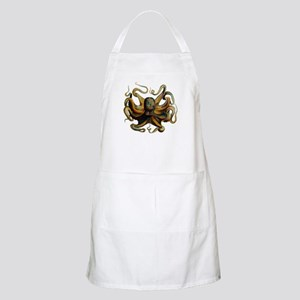 Colorful Octopus Swirling Tentacles Apron
