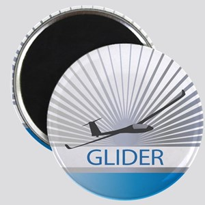 Aircraft Glider Magnet