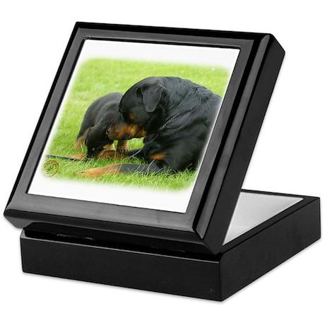 Rottweiler 9W025D-079 Keepsake Box